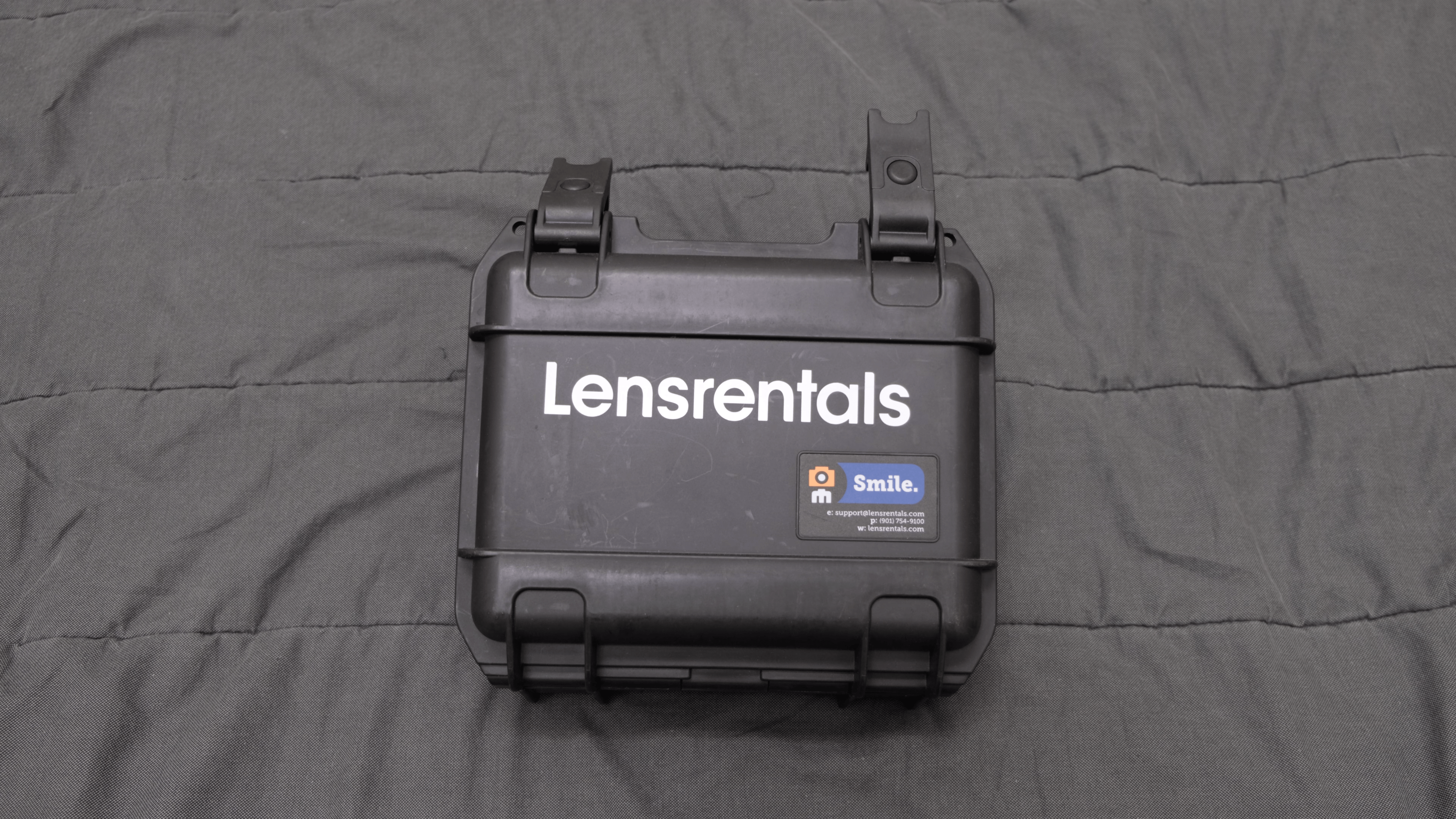 Lensrentals Hard Case