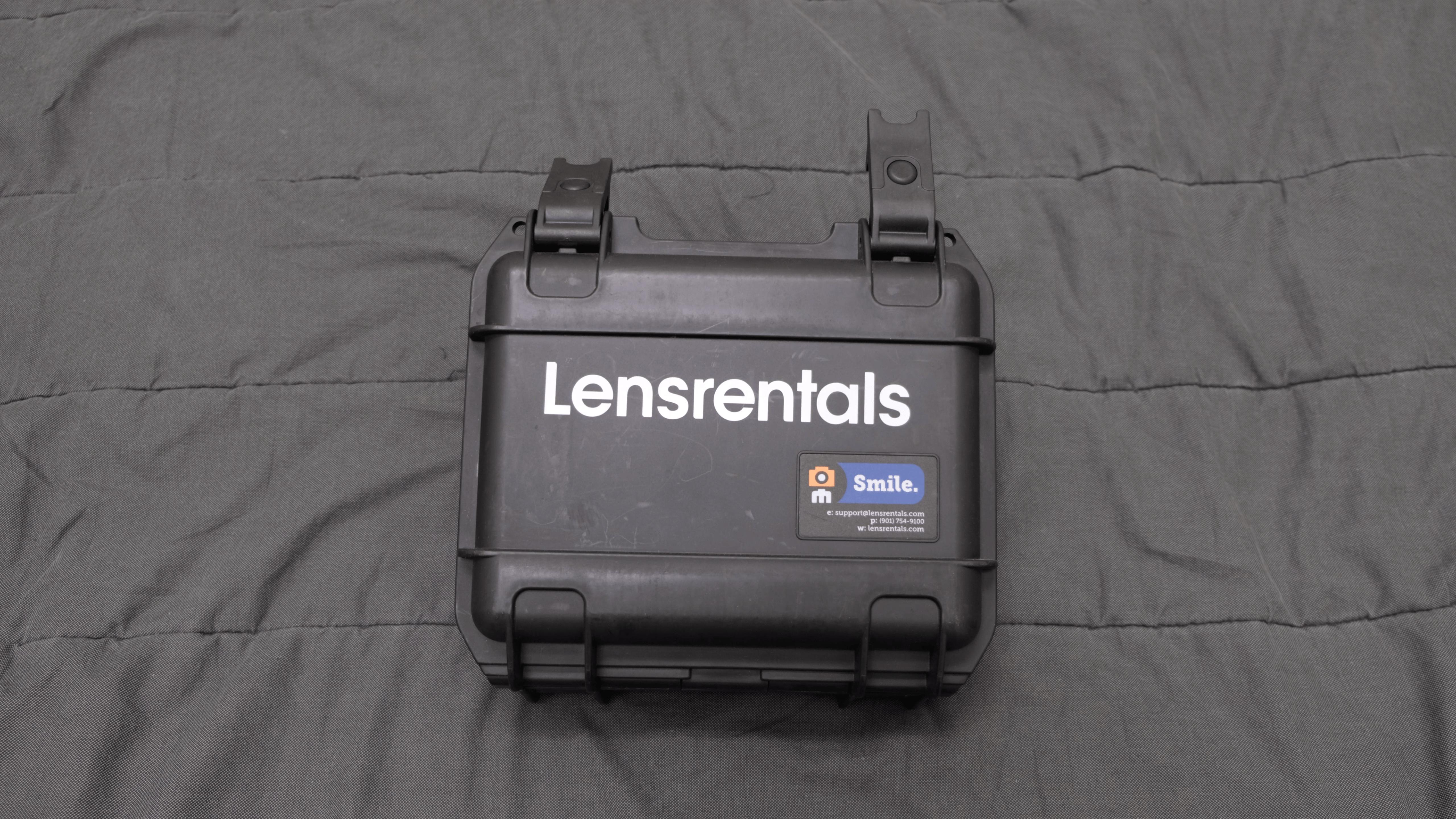 Lensrentals Hard Case