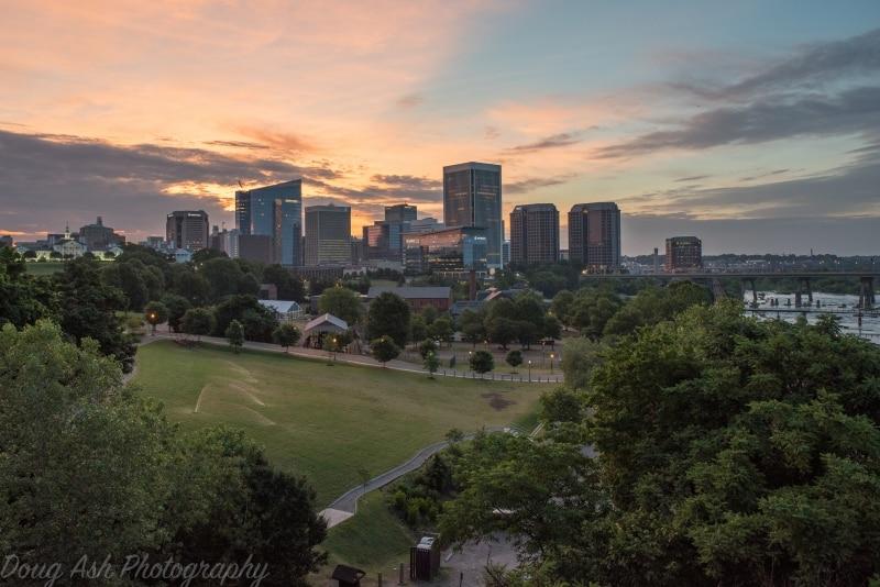 Richmond VA Sunrise