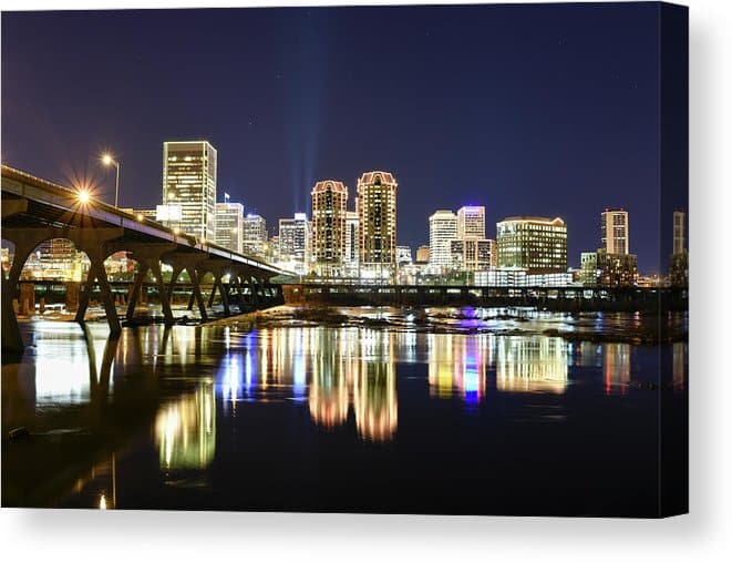 Richmond Virginia wall art for sale