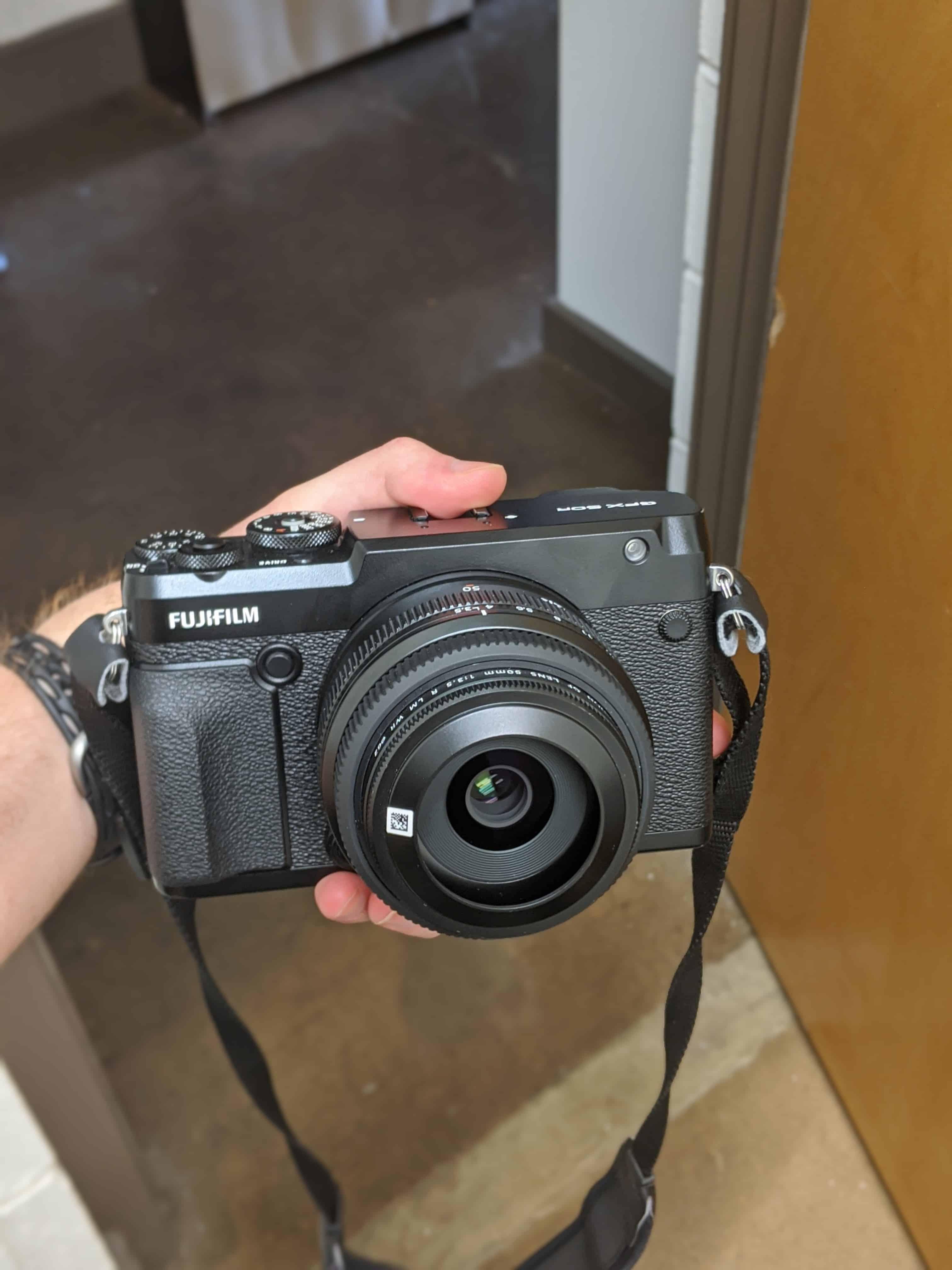 Fujifilm GFX50R in all it's glory!
