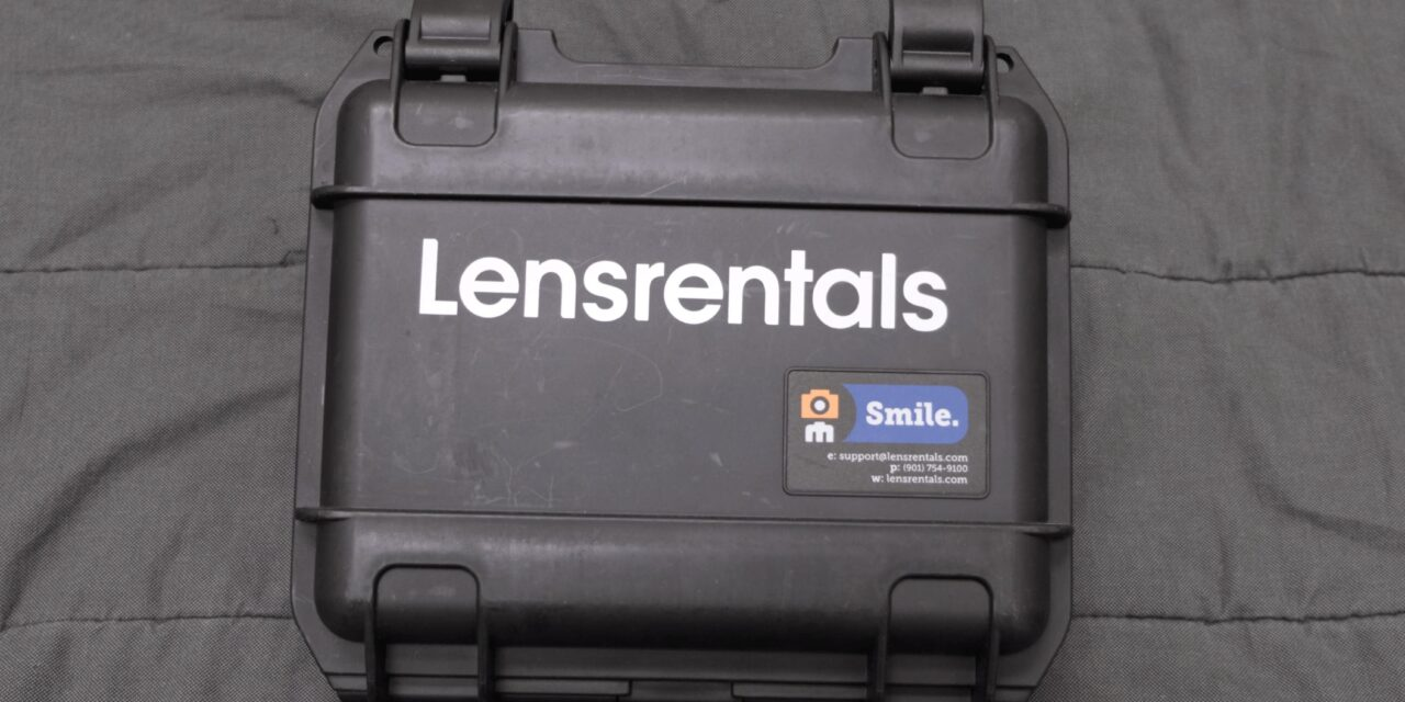 Lensrental hard case