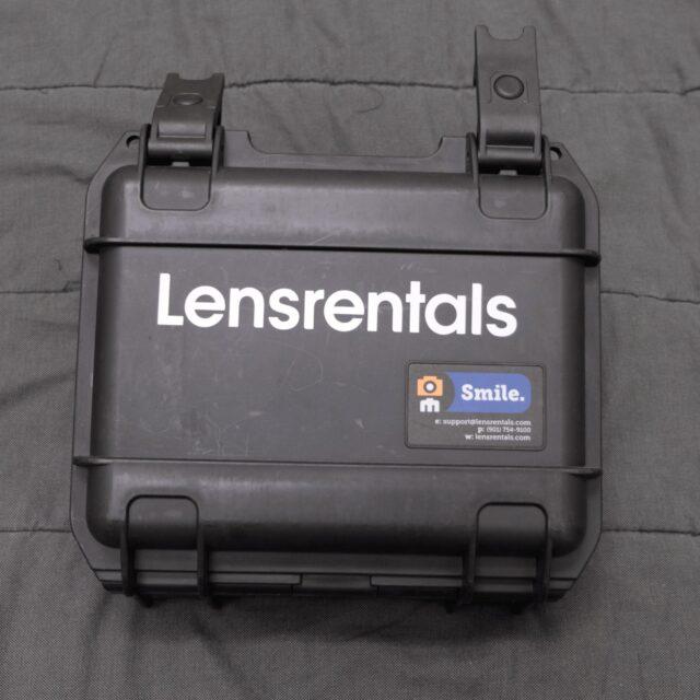 Lensrental hard case