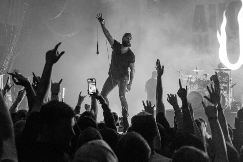 august burns red image with the fujifilm x100f