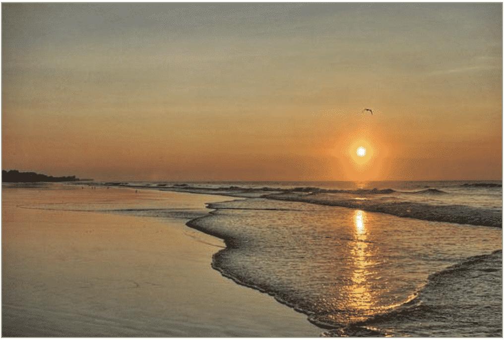 topsail beach sunrise