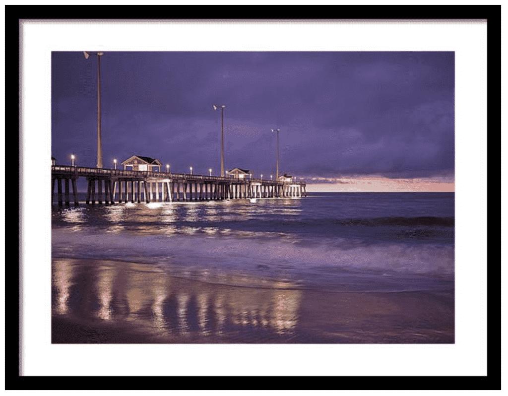 Jennette's Pier sunrise photography