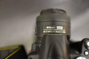 Image of my Nikon 35mm f/1.8 DX Prime Lens