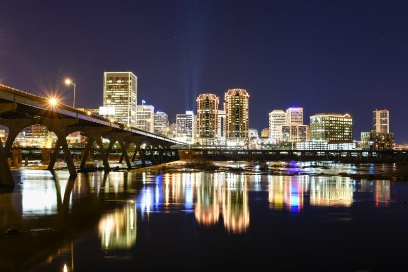 richmond city lights christmas